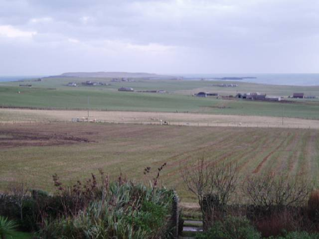Jan 2005, looking towards Copinsay from Deerness