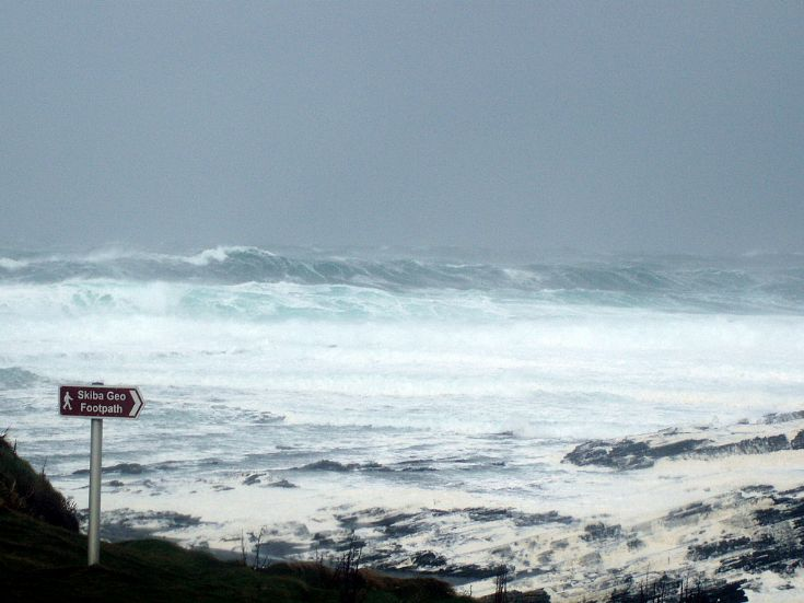 A little bit rough in Birsay