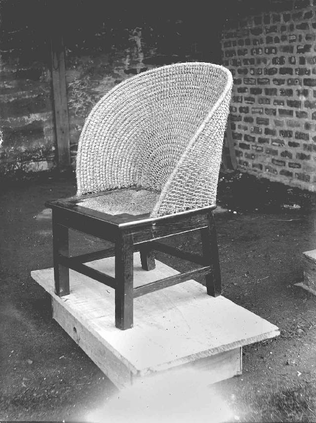 Fan backed Orkney chair