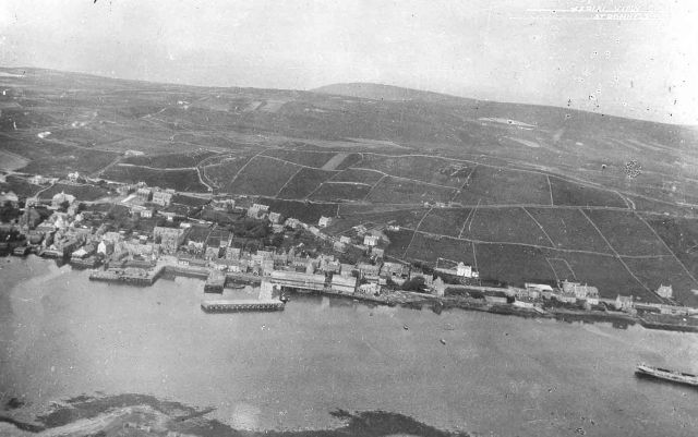 Aerial view of Stromness 1931