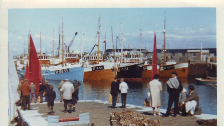 Norwegian fishing boats Kirkwall Basin
