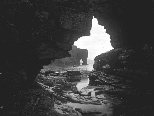 Scabra Head seen from Sinian's Cave