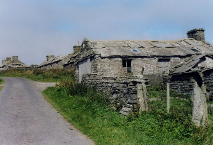 Westray abandoned Village