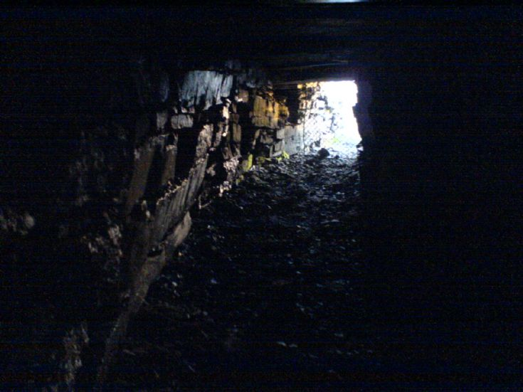 Inside Wideford Cairn