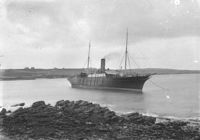 St. Sunniva ashore near Graemeshall 5-12-14