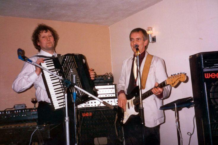 Orkney musicians Gerbil