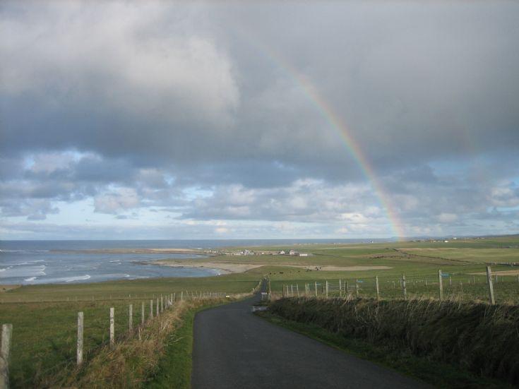 Rainbow over Birsay