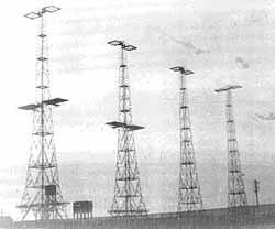 Netherbutton Radar Masts