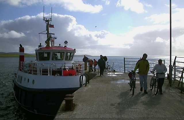 MV Graemsay, the current North Hoy ferry