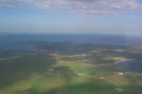 Kirkwall from the Air
