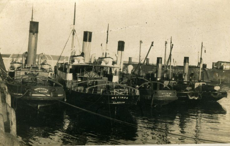 Salvage fleet