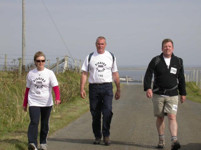 Bisgeos 12 mile walk